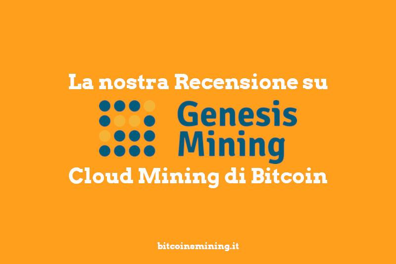 genesis mining recensione